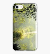 Where the morning fairies play iPhone Case/Skin