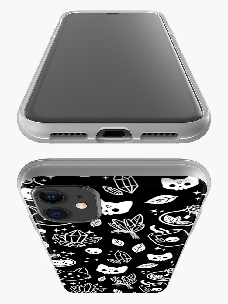 Alternate view of Herb Witch // Black & White iPhone Case & Cover