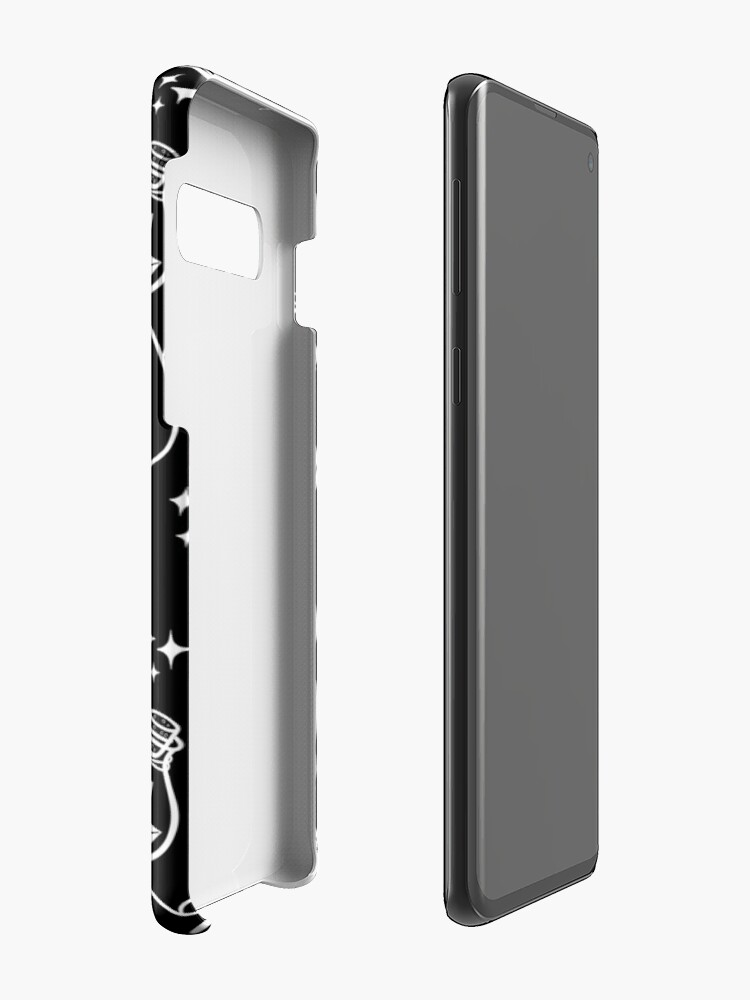 Alternate view of Herb Witch // Black & White Case & Skin for Samsung Galaxy