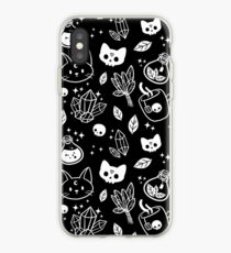 Herb Witch // Black & White iPhone Case