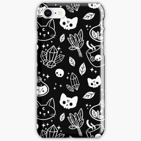 Herb Witch // Black & White iPhone Snap Case