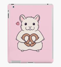 I love you more than this hamster loves pretzels iPad Case/Skin