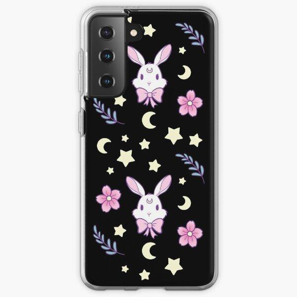 Sakura Bunny   Nikury Samsung Galaxy Soft Case