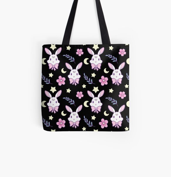 Sakura Bunny All Over Print Tote Bag