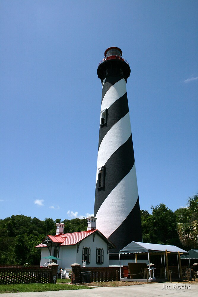 St Augustine Lighthouse by Jim Roche