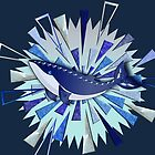 BLUE HUMPBACK WHALE 147 SHATTERED OCEAN. by sana90