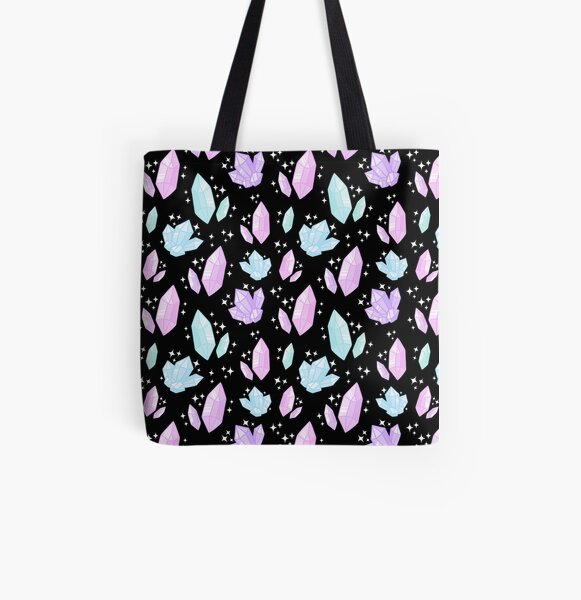 Magical Crystals All Over Print Tote Bag