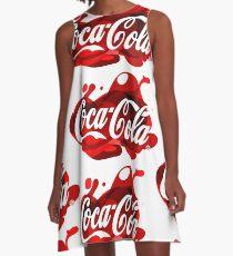 Coca-Cola Madness A-Line Dress
