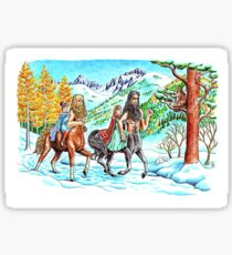 Journey to Cair Paravel Sticker