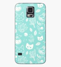 Herb Witch // Green Pastel Case/Skin for Samsung Galaxy
