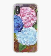 Hydrangeas in Acrylic iPhone Case