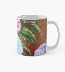 Hydrangeas in Acrylic Mug