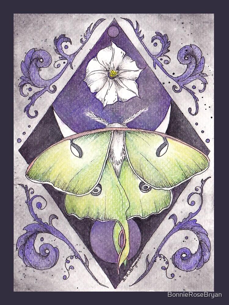 Luna Moth de BonnieRoseBryan