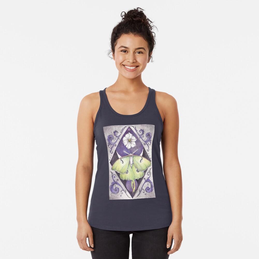 Luna Moth Camiseta con espalda nadadora
