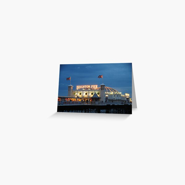Brighton Pier Greeting Card