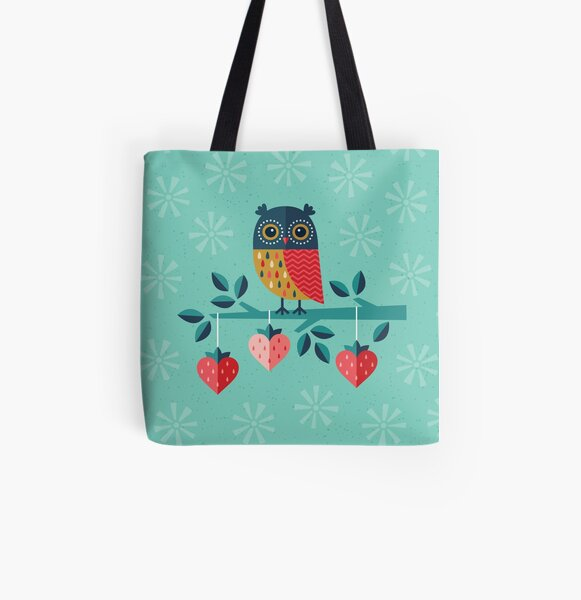Owl Always Love You All Over Print Tote Bag