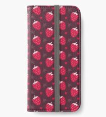 Strawberries and Chocolate iPhone Wallet