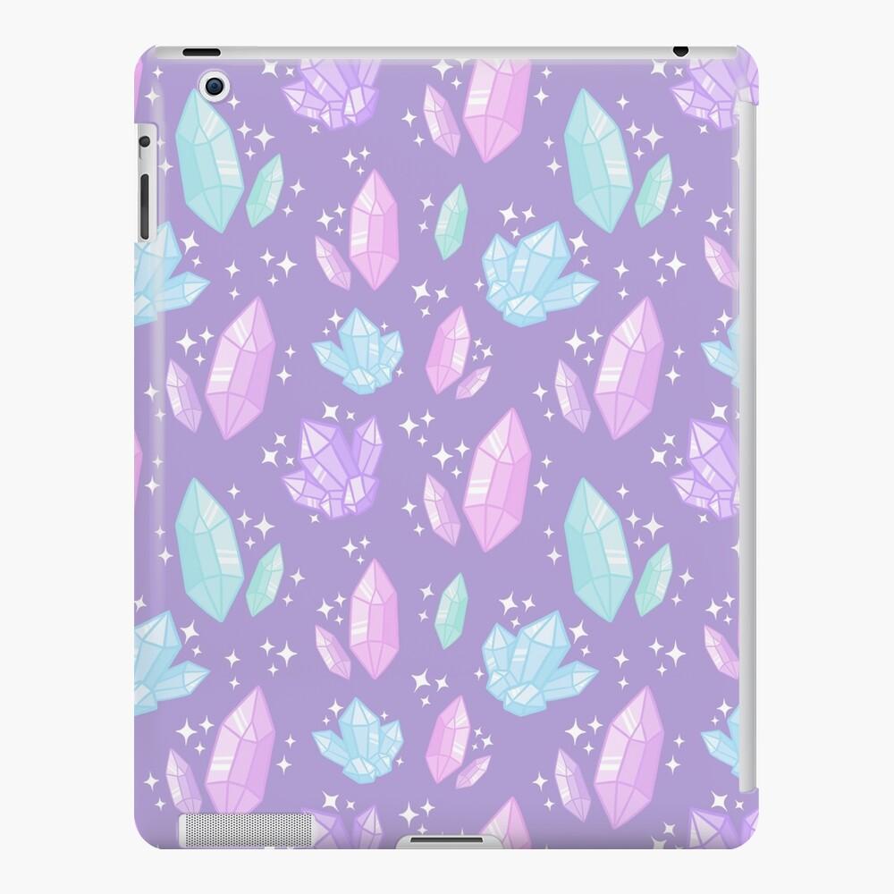 Magische Kristalle // Lila iPad-Hülle & Skin