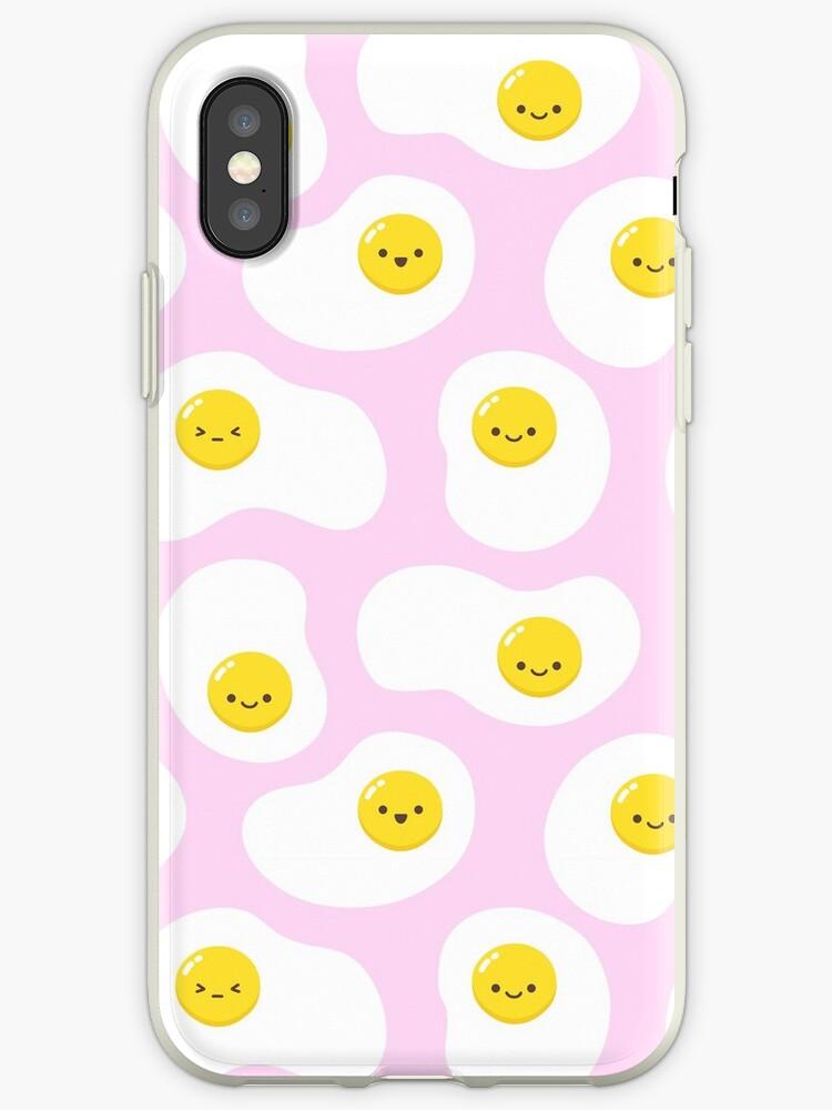 Cute Fried Eggs Pattern by nikury