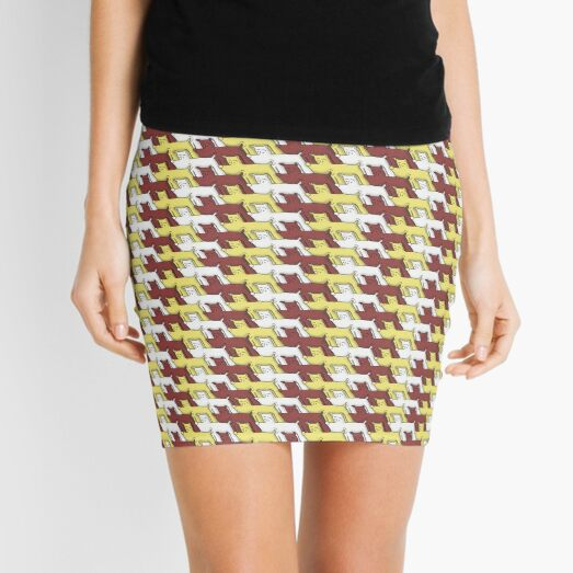 Pack of Hounds Mini Skirt