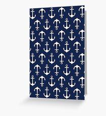 Anchors Aweigh! Greeting Card