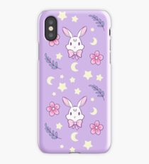 Sakura Bunny // Purple iPhone Case/Skin