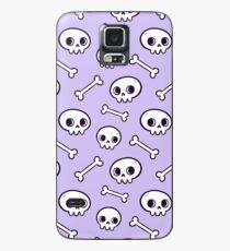 Cute Skulls // Purple Case/Skin for Samsung Galaxy