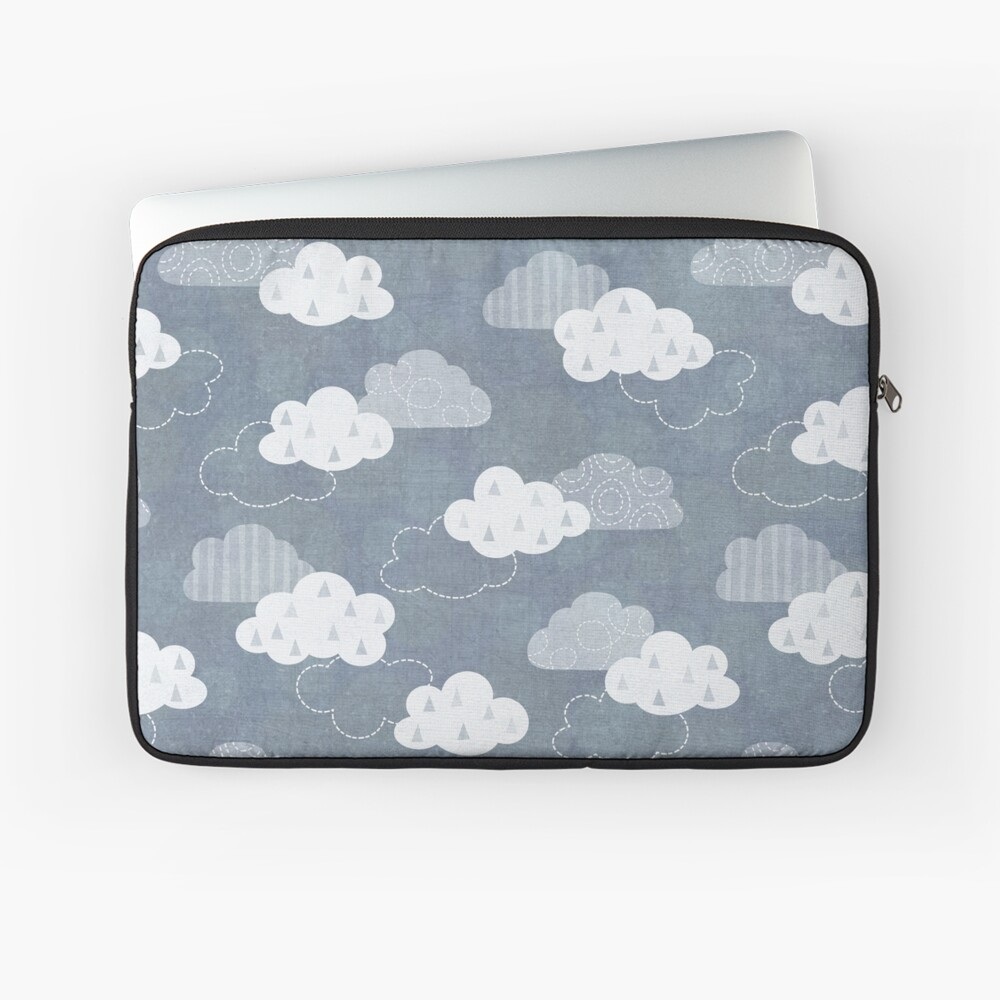 Rain Clouds Laptop Sleeve