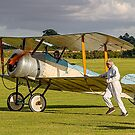 Sopwith Dove reproduction G-EAGA taxying by Colin Smedley