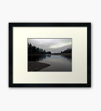 On The Wallace River Framed Print