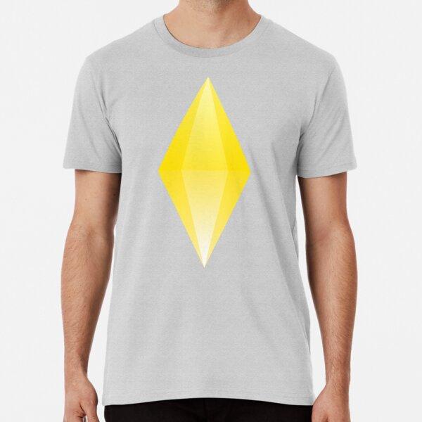 The Sims - Yellow Diamond (Average Moodlet) Premium T-Shirt