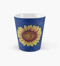 Swirly Sunflower Tall Mug