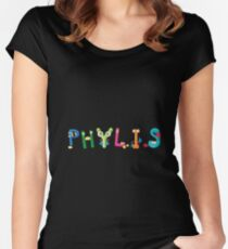 Phylis Women's Fitted Scoop T-Shirt