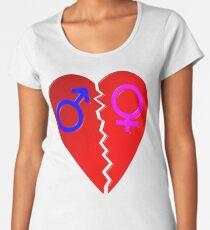 Broken Heart Women's Premium T-Shirt