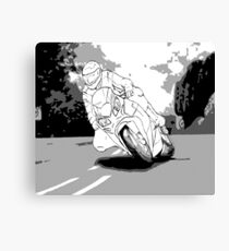 IOM TT Graphic Novel Canvas Print