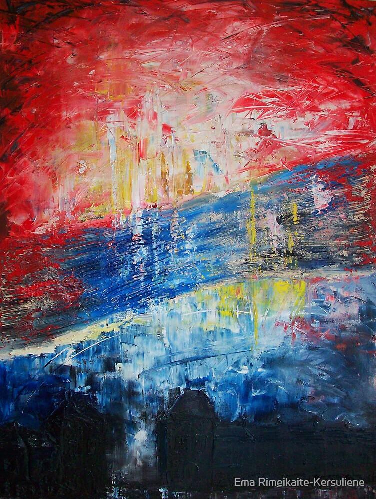Big Bang by Ema Rimeikaite-Kersuliene