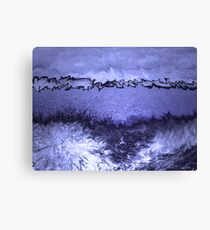 Blue Moves Canvas Print