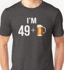 Funny 50th Birthday 50 Year Old Beer Lovers Gift T-Shirt