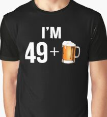 Funny 50th Birthday 50 Year Old Beer Lovers Gift Graphic T-Shirt