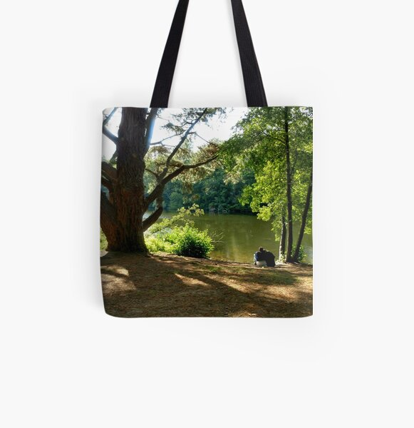 Falling in love and sing happy songs All Over Print Tote Bag