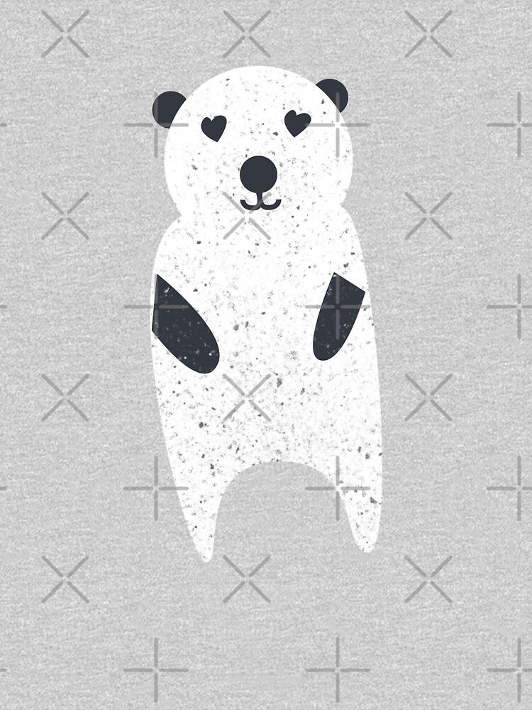 Polar Bear with texture illustration  by Julli