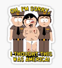 South Park Randy Get Rested Sticker