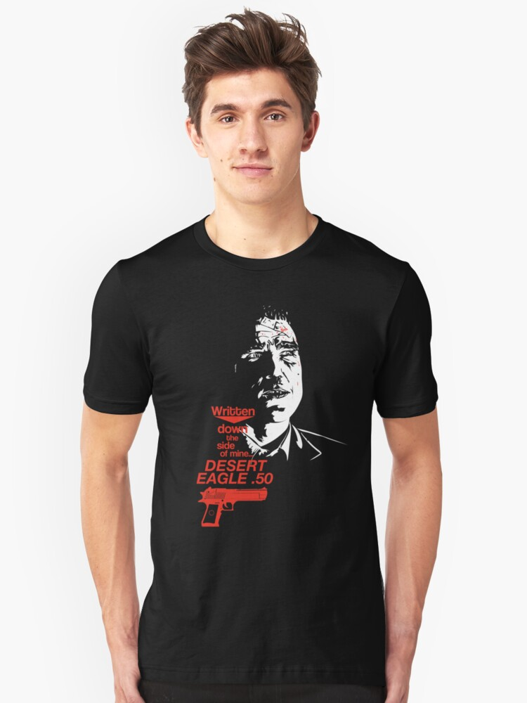 'Bullet-Tooth Tony - Snatch' T-Shirt by Gait44