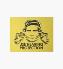 Use Hearing Protection (Factory)  Art Board