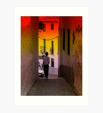 """ alleyways ""  Art Print"