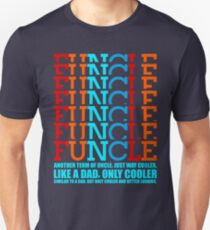 Vintage retro Awesome funcle teeshirts T-Shirt