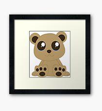 Sweet Teddy bear Framed Print