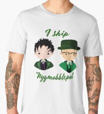 I ship Nygmobblepot Men's Premium T-Shirt