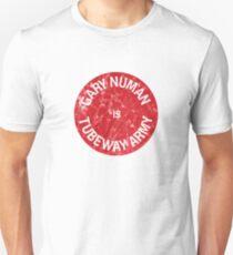 Numan is Tubeway Army distressed logo T-Shirt