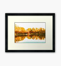 Impressions of Forests - Colorful Autumn Mirror Framed Print